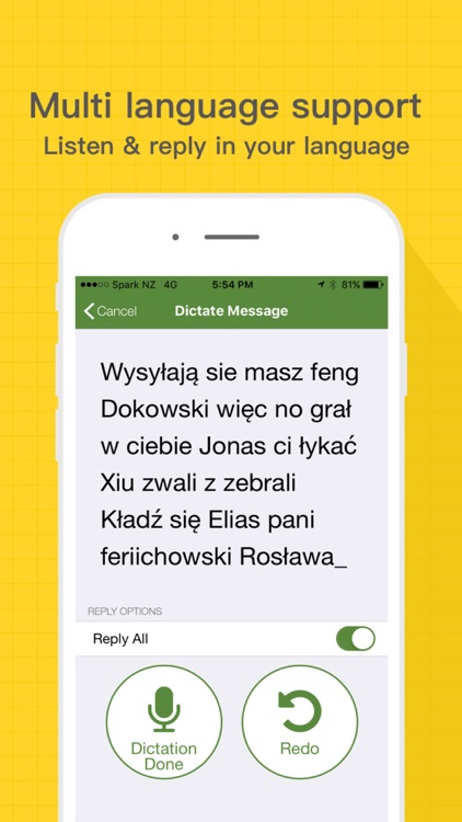 Speaking Email - voice reader screenshot-4
