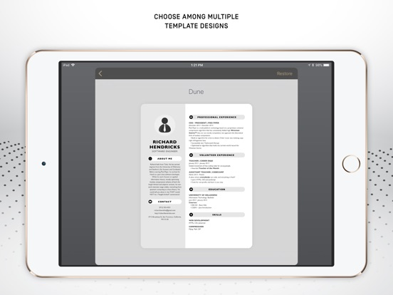 Resumer: CV & Resume builder screenshot 10