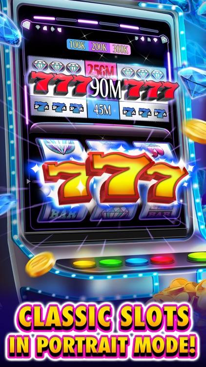 Huuuge Diamonds Slot Machine screenshot-0
