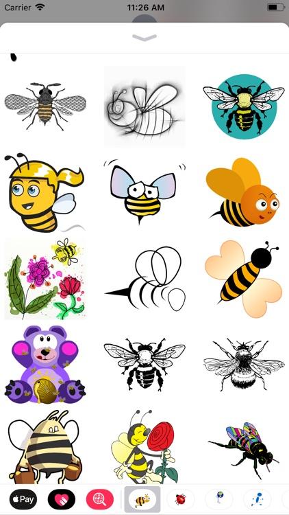 Honeybee Sticker Pack screenshot-5