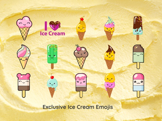Ice Cream Funny Emoji Sticker App Price Drops