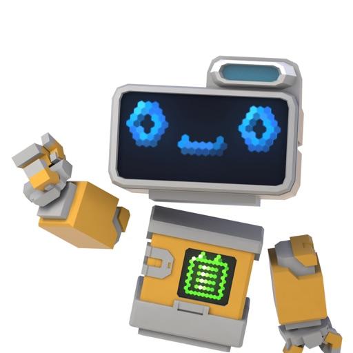 BRIDGET: A mixed reality robot