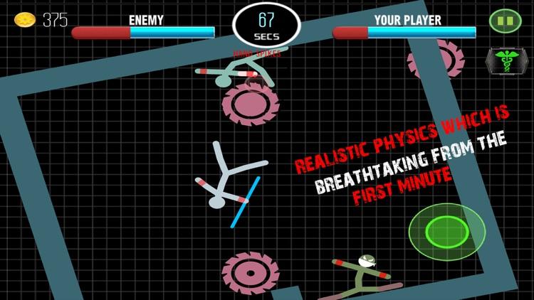 Stickman Fighting Physics Games