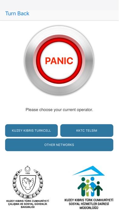KKTC Panik Butonu screenshot one