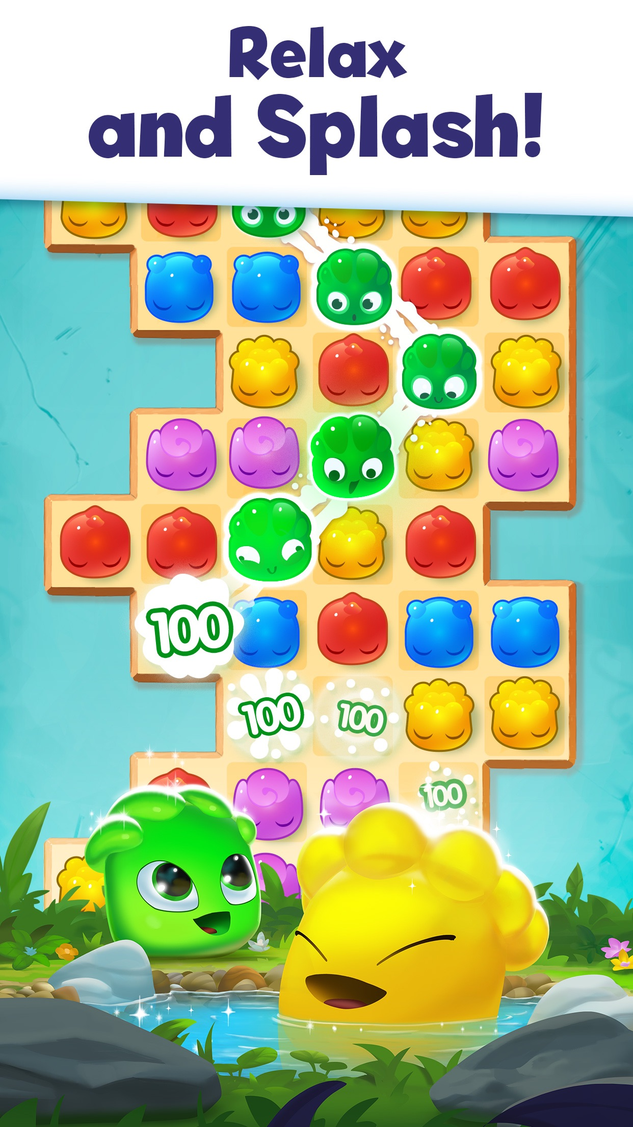 Jelly Splash: Fun Puzzle Game Screenshot