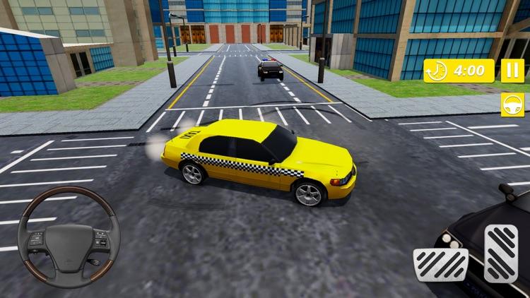 Real Taxi Cab Driver City screenshot-3