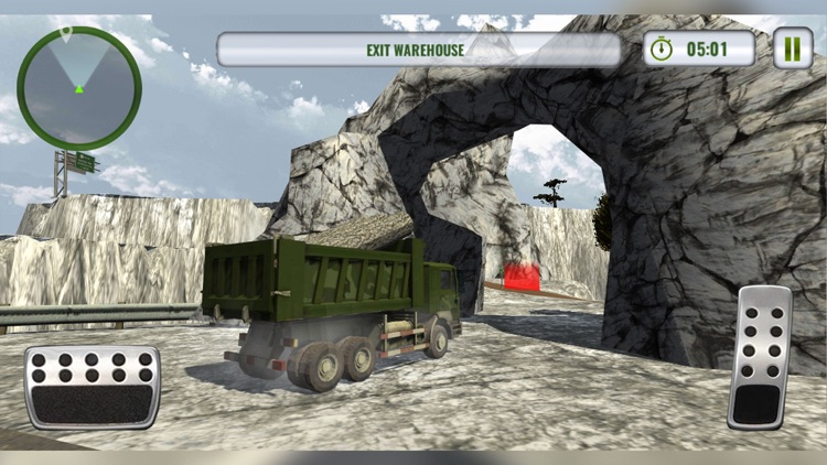 Army Truck Driving Simulator screenshot-0