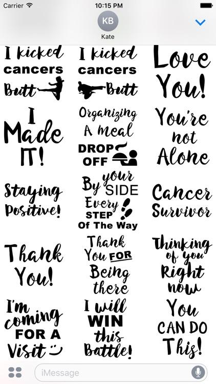 Liver Cancer Stickers screenshot-4