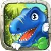 探索恐龙世界 - 恐龙乐园积木拼图游戏