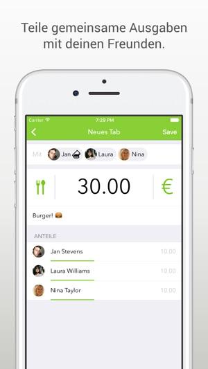 Tabbt - Geld senden & teilen Screenshot