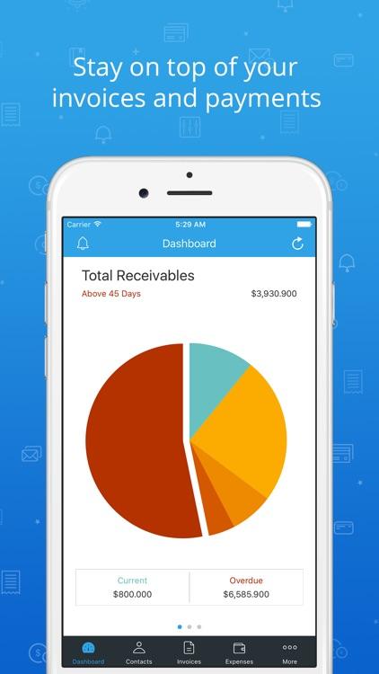 Invoice & Time Tracking - Zoho