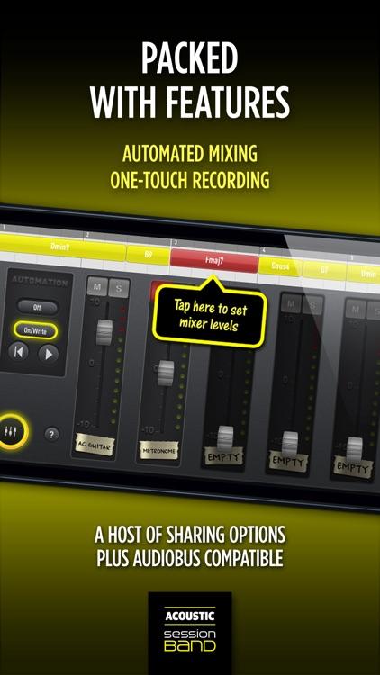 SessionBand Acoustic Guitar 1 screenshot-4