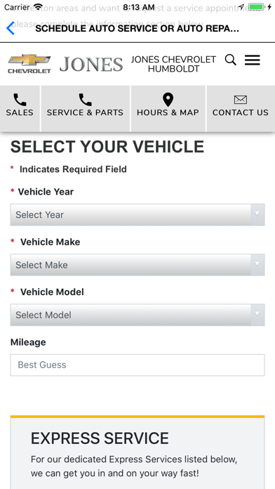 Jones Motor Company Dealer App screenshot four