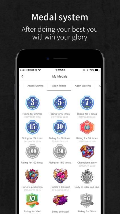 Again-Fitness social platform screenshot-3