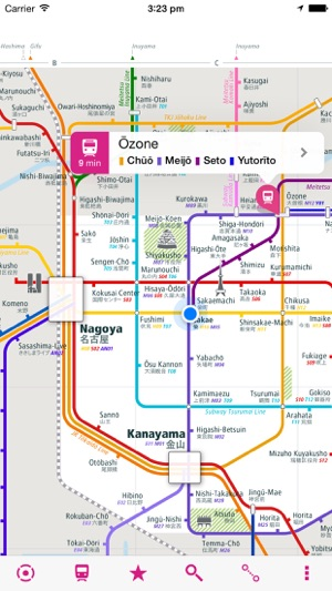 Nagoya Rail Map Lite on the App Store