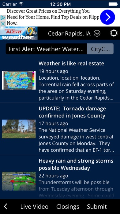 KCRG TV9 First Alert Weather for Windows