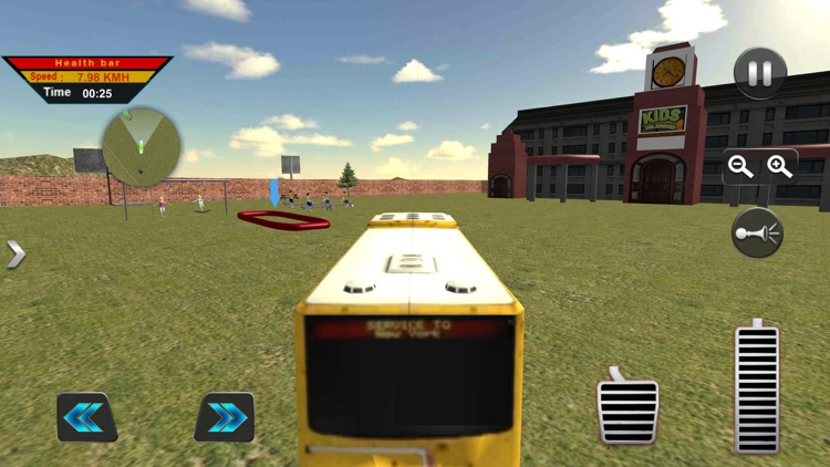 Off-Road American School Bus screenshot-4