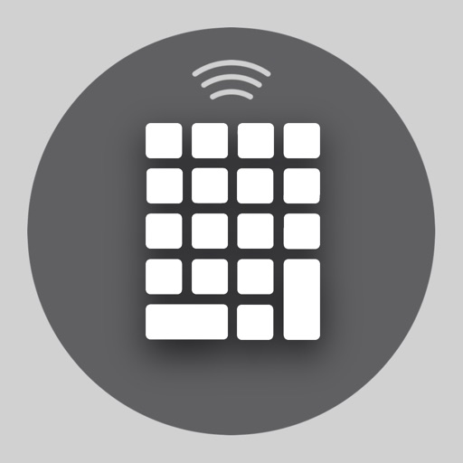 Remote KeyPad + NumPad for Mac