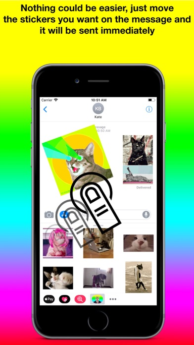 download Animated Cat Stickers Pro apps 1
