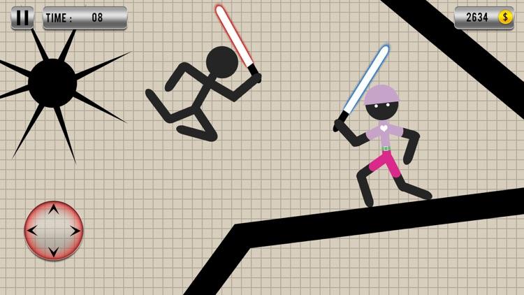 Warrior Stickman Fighting Hero screenshot-3