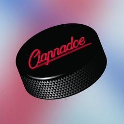 Clapnadœ Hockey Stickers
