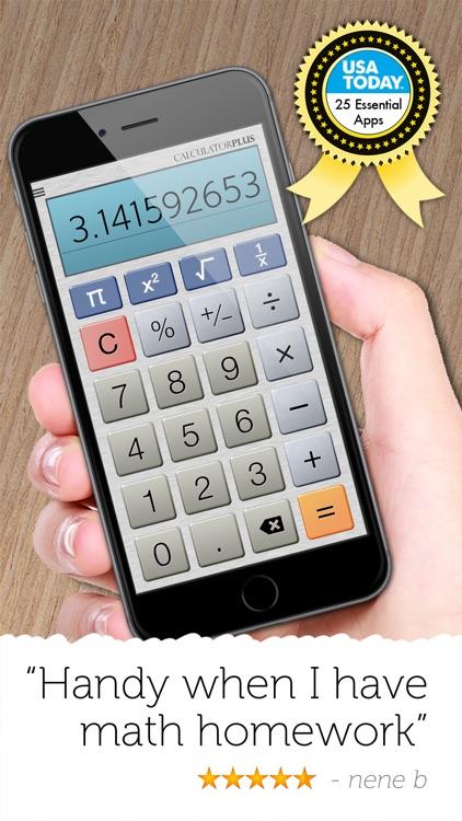 Calculator Plus - Full Screen screenshot-3