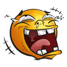 Funny and Crazy Emoji Sticker