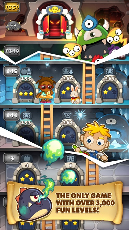 Monster Busters:Match 3 Puzzle