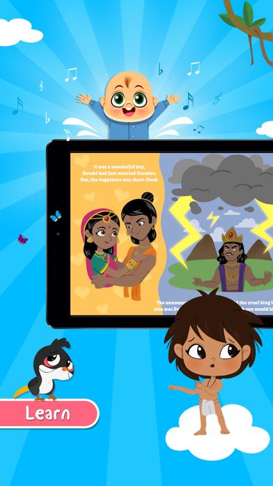 Bulbul-Stories,Rhymes for kids screenshot two