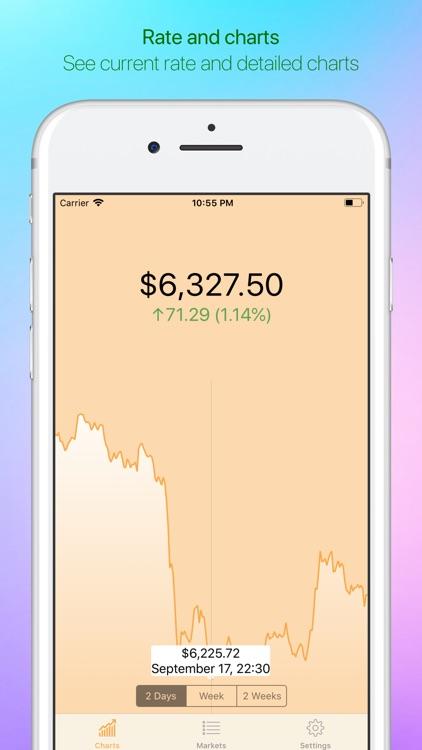 Bitcoin - Live Badge Price