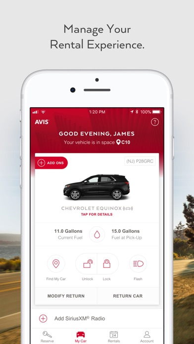 Avis review screenshots