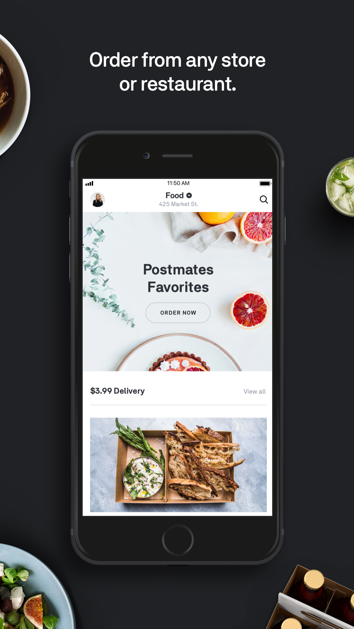 Postmates - Food Delivery Screenshot