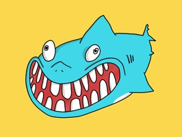 Animated Shark Stickers