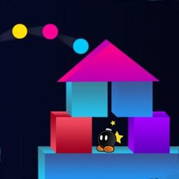 Shoot Tower - Block balls fire