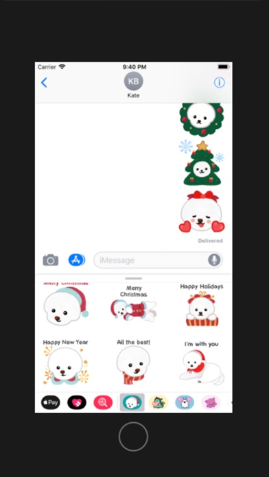 Christmas bichon Yallet screenshot four