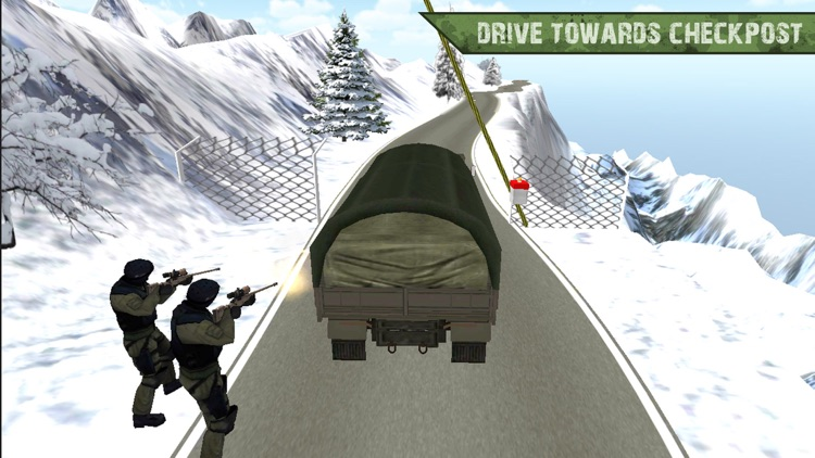 Army Cargo Truck Transport Sim screenshot-2