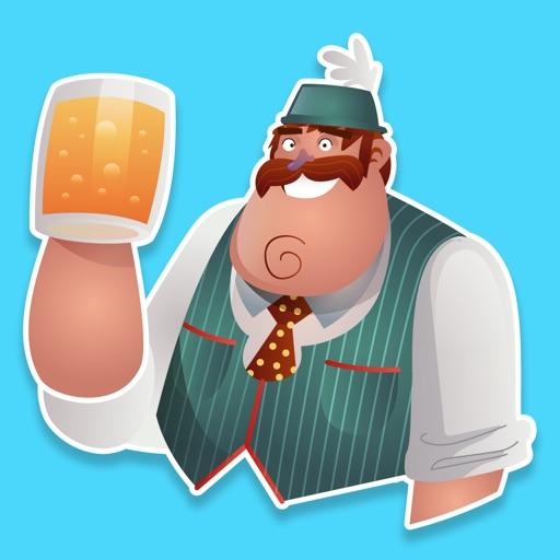 Animated Oktoberfest Stickers