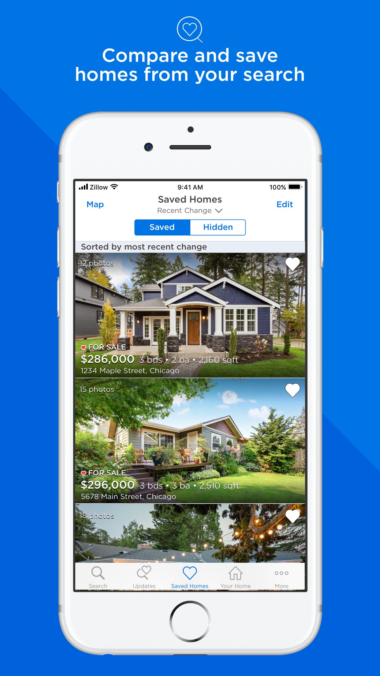 Zillow Real Estate & Rentals Screenshot