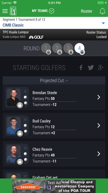 PGA TOUR Fantasy Golf