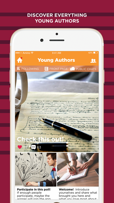 Young Authors Amino-0