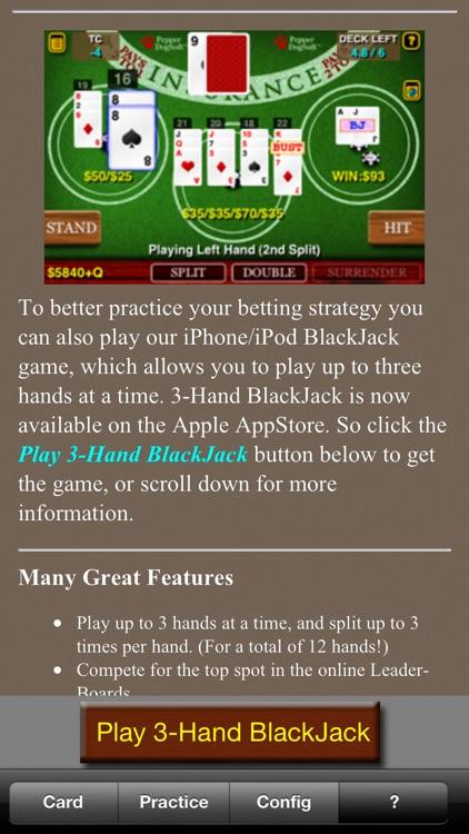 BlackJack Teacher +HD screenshot-3