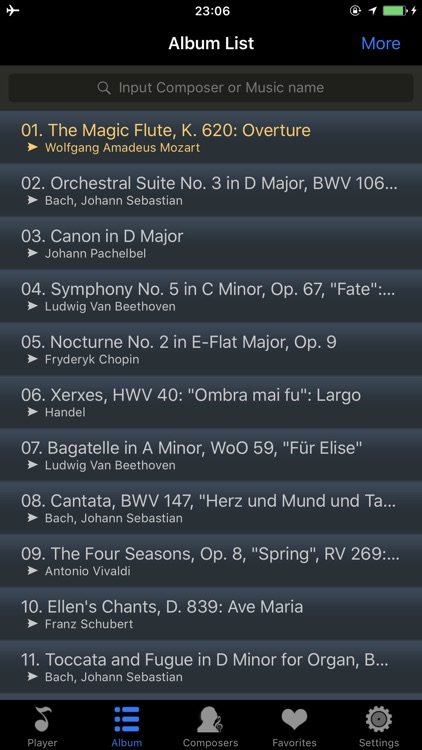 classical music master player screenshot-3