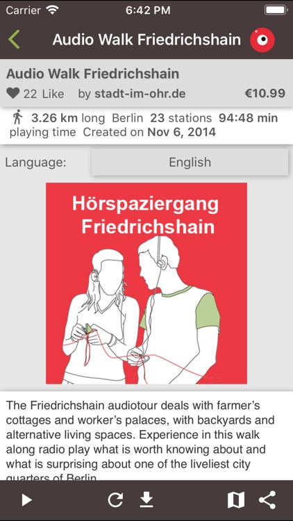 stadt im ohr audio tour Berlin