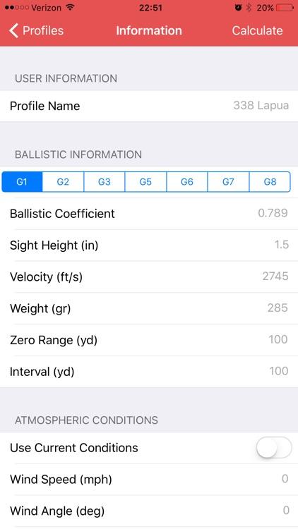 Long Shot Advanced(Ballistics)