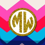 Monogram Lite - Wallpaper & Backgrounds Maker HD with Glitter themes free icon