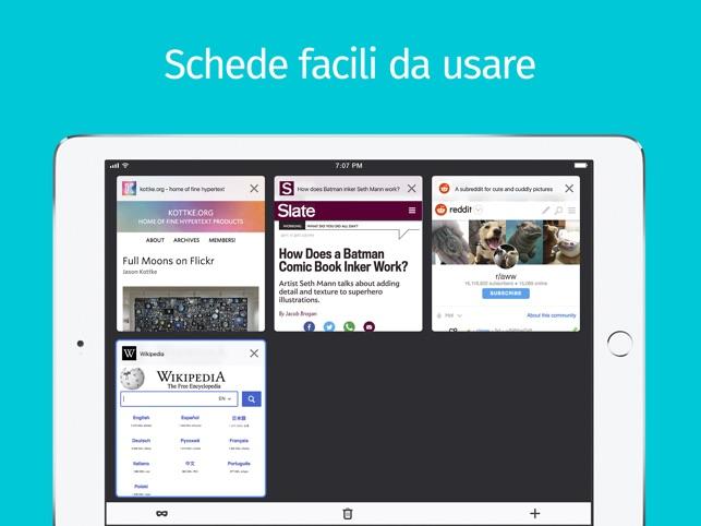 Browser web Firefox Screenshot