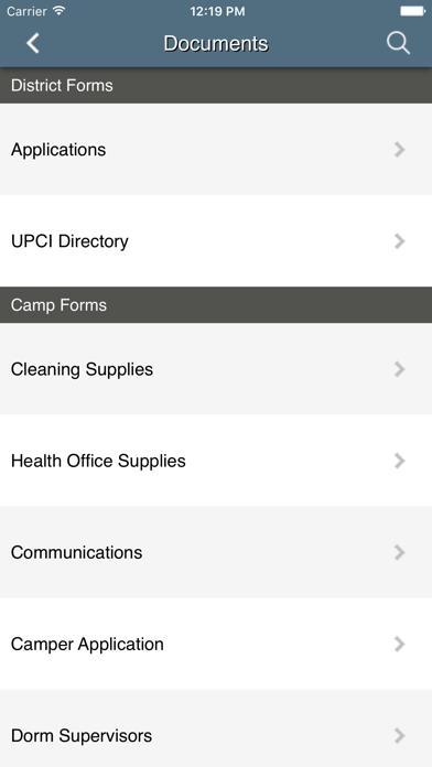 Indiana District UPCI screenshot three