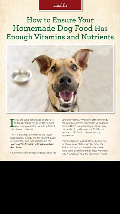 Healthy Dog Magazine screenshot-3