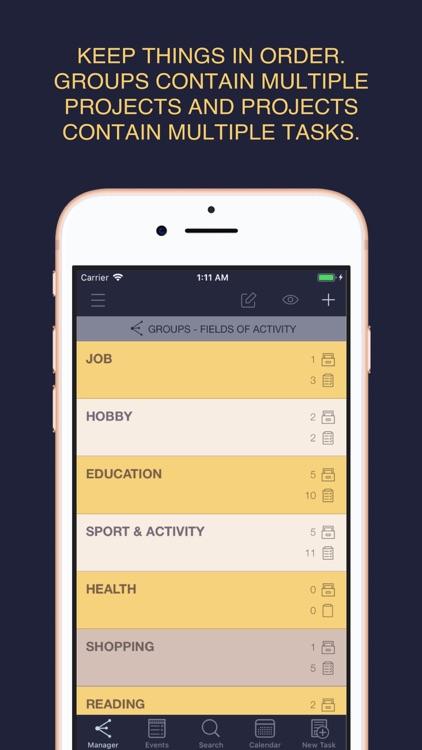 Task List - Task Manager screenshot-4