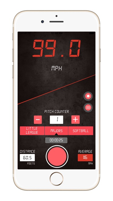 download Baseball Pitch Speed Radar Gun apps 0